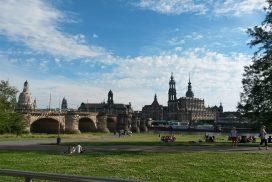 Canalettoblick Dresden Altstadt