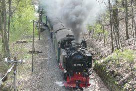 Lößnitzgrundbahn in Radebeul